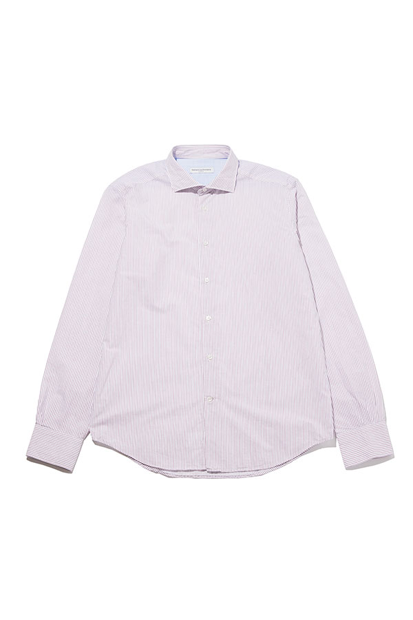 Classic Stripe Slim-fit Shirts_RE
